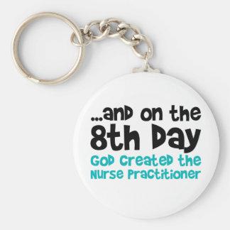 Nurse Practitioner Creation Keychain