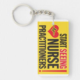 Nurse Practitioner Gear Keychain