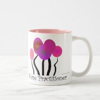 Nurse Practitioner Gifts Artsy Trees Design Mug