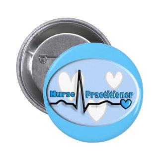 Nurse Practitioner Gifts Pinback Button