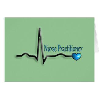 Nurse Practitioner Gifts QRS Design Card