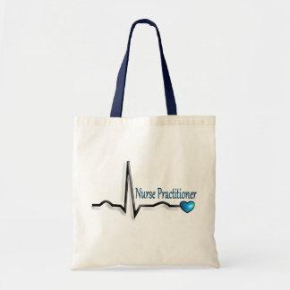Nurse Practitioner Gifts QRS Design Tote Bag