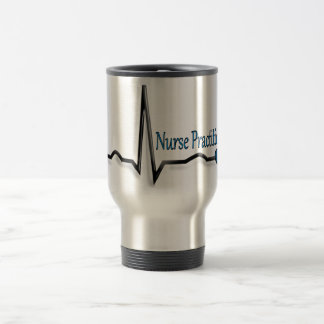 Nurse Practitioner Gifts QRS Design Travel Mug
