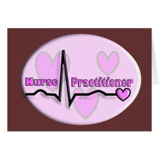 Nurse Practitioner Gifts- QRS Segment Design Card