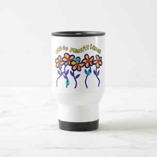 Nurse Practitioner Gifts Whimsical Flowers Design Mug