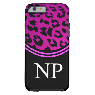 Nurse Practitioner iPhone 6 case Pink Leopard