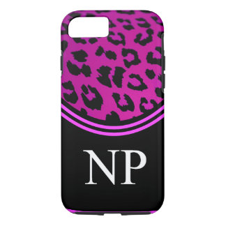 Nurse Practitioner iPhone 7 case Pink Leopard