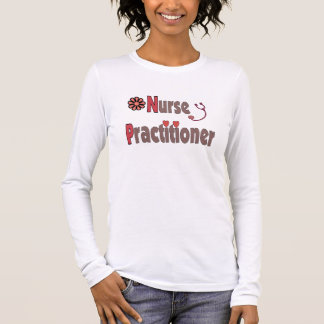 nurse practitioner long sleeve t-shirt