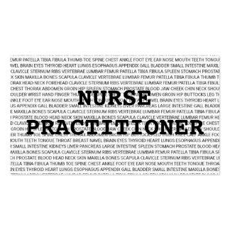 Nurse Practitioner Medical Words Business Card