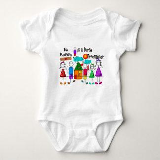 Nurse Practitioner Mommy Baby Bodysuit