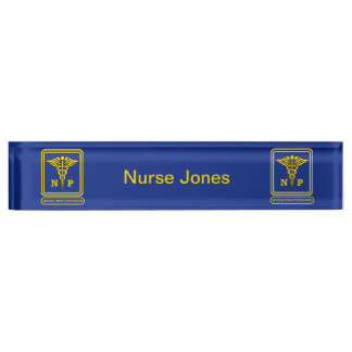 Nurse Practitioner Name Plate