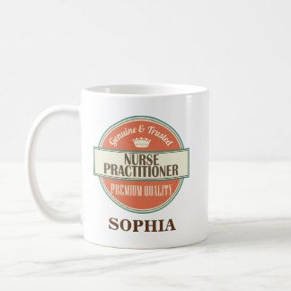 Nurse Practitioner Personalized Office Mug Gift