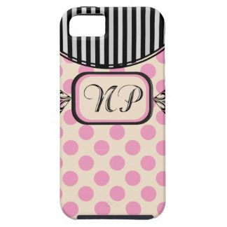 Nurse Practitioner Pink Stripes Electronics Cases iPhone 5 Cases