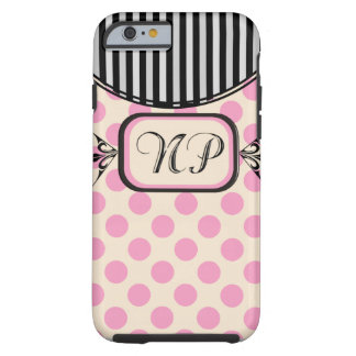 Nurse Practitioner Pink Stripes Electronics Cases iPhone 6 Case