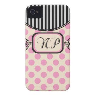 Nurse Practitioner Pink Stripes Electronics Cases iPhone 4 Case-Mate Case