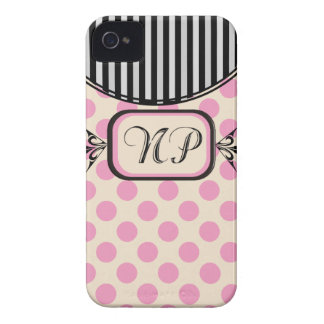 Nurse Practitioner Pink Stripes Electronics Cases Case-Mate iPhone 4 Cases
