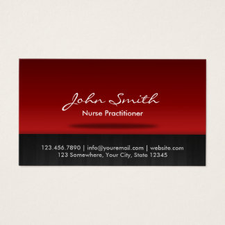 Nurse Practitioner Professional Business Card
