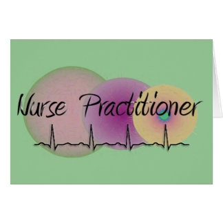 Nurse Practitioner QRS Design Card