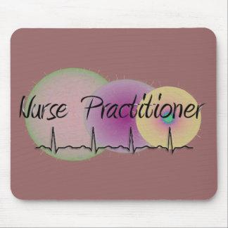Nurse Practitioner QRS Design Mouse Pad