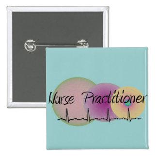 Nurse Practitioner QRS Design Pin