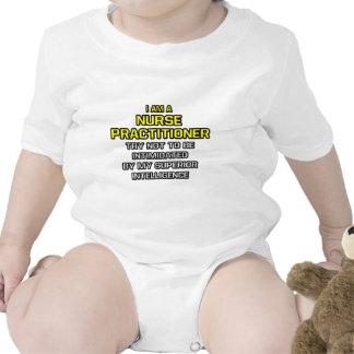 Nurse Practitioner...Superior Intelligence Baby Bodysuits