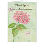 """Nurse Practitioner """"Thank You Card"""" Greeting Card"""