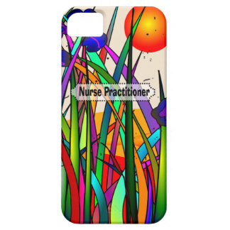 Nurse Practitioner Whimsical Flowers iPhone SE/5/5s Case