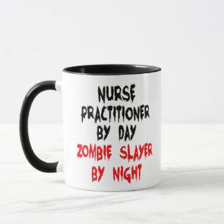 Nurse Practitioner Zombie Joke Mug