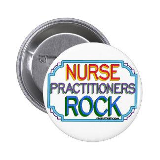 Nurse Practitioners Rock Pinback Buttons
