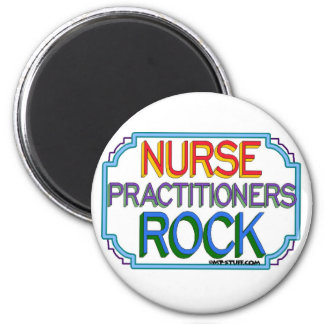Nurse Practitioners Rock 2 Inch Round Magnet