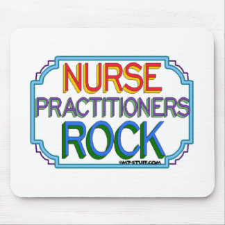 Nurse Practitioners Rock Mouse Pad
