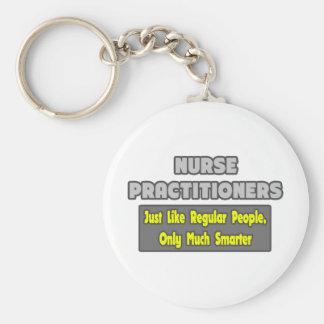 Nurse Practitioners...Smarter Basic Round Button Keychain