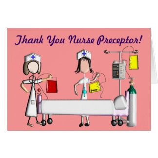 Nurse Preceptor Thank You Cards