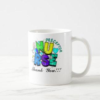 "Nurse Preceptor ""Thank  You"" Gifts Coffee Mug"