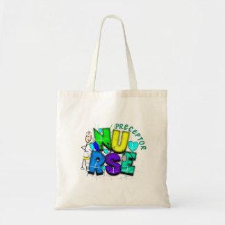 "Nurse Preceptor ""Thank  You"" Gifts Tote Bag"