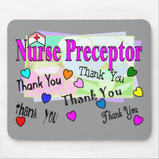 Nurse Preceptor THANK YOU Mouse Pad