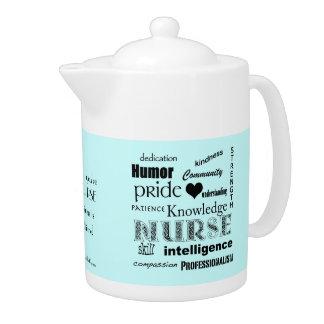 Nurse Pride-Attributes+Heart Teapot