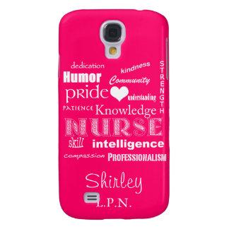 Nurse Pride Attributes /Hot Pink Galaxy S4 Cover