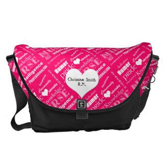 Nurse Pride Attributes/Pink Courier Bag