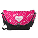 Nurse Pride Attributes/Pink-Personalize Name Courier Bags