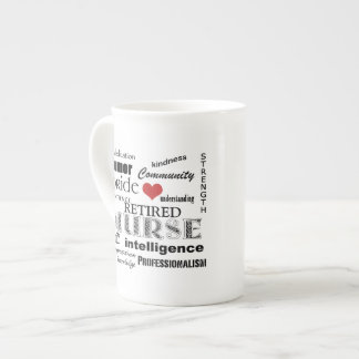Nurse Pride-Attributes/RETIRED Porcelain Mugs