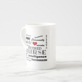 Nurse Pride-Attributes/RETIRED Tea Cup