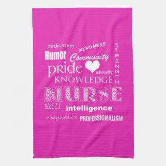 Nurse Pride-Attributes/Vibrant Pink Towel