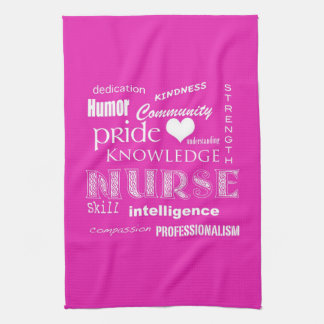 Nurse Pride-Attributes/Vibrant Pink Towel