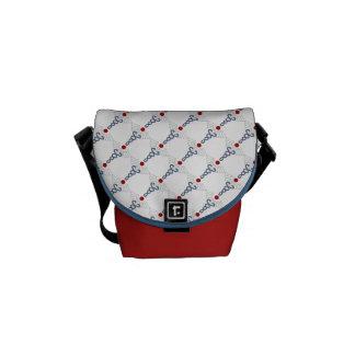 Nurse Pride-Caduceus Messenger Bag