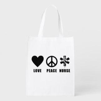 Nurse Pride Grocery Bag