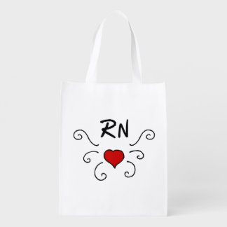 Nurse Pride Reusable Grocery Bag