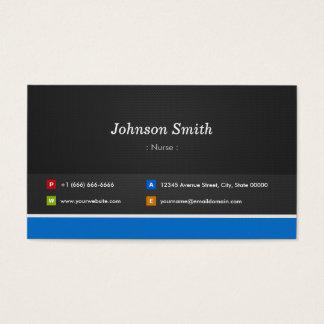 Nurse - Professional Customizable Business Card