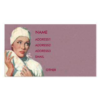 NURSE PROFILE CARD 1 BUSINESS CARDS