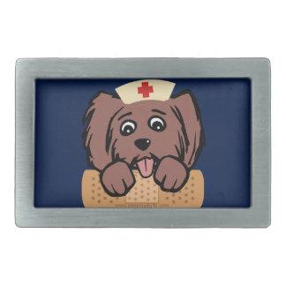 Nurse Pup Belt Buckle